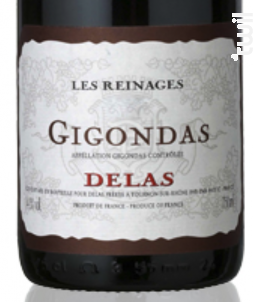 Les Reinages - Maison Delas - 2015 - Rouge