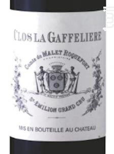 Clos La Gaffelière - Château La Gaffelière - 2014 - Rouge