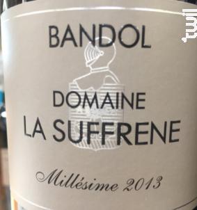 Bandol - DOMAINE LA SUFFRENE - 2013 - Rouge
