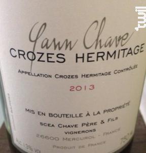 Le Rouvre - Domaine Yann Chave - 2016 - Rouge