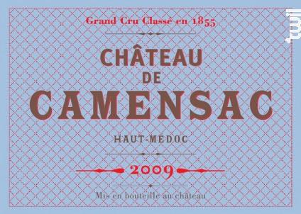 Château Camensac - Château de Camensac - 2009 - Rouge