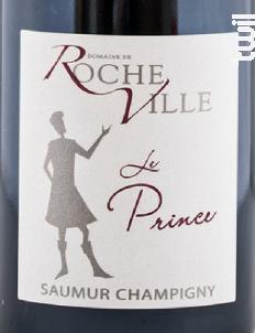 Le Prince - Domaine de Rocheville - 2011 - Rouge