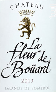 La Fleur de Bouard - Château La Fleur de Boüard - 2020 - Rouge