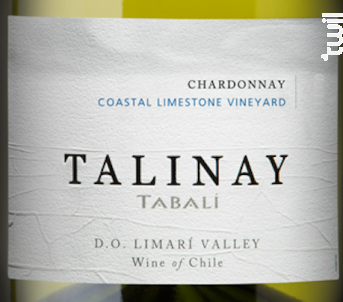 Talinay - chardonnay - TABALI - 2015 - Blanc