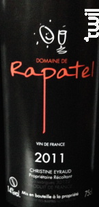 Domaine de Rapatel - Domaine de Rapatel - 2014 - Rouge
