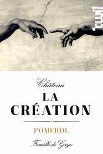 Château La Création - Château La Création - 2015 - Rouge