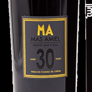 30 Ans - Mas Amiel - Non millésimé - Rouge