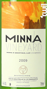 Minna - VILLA MINNA VINEYARD - 2009 - Blanc