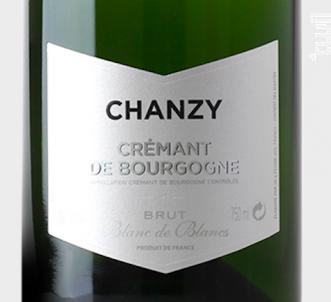 Crémant de Bourgogne blanc de blancs - Maison Chanzy - Non millésimé - Blanc