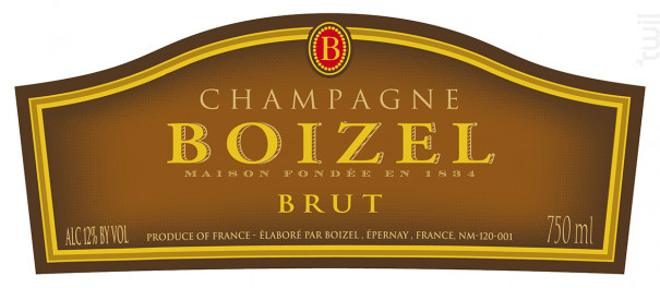 Joyau de France - Champagne BOIZEL - 2007 - Effervescent