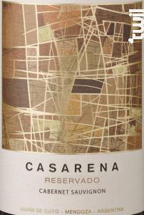 Reservado - CABERNET SAUVIGNON - Casarena - 2017 - Rouge