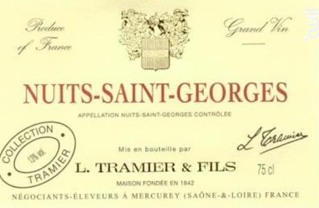 Nuits-Saint-Georges - Maison L. Tramier et Fils - 2015 - Rouge