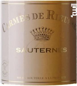 Carmes de Rieussec - Domaines Barons de Rothschild - Château Rieussec - 2016 - Blanc