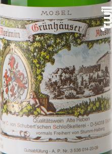 Riesling Abtsberg Alte Reben Trocken - Maximin Grunhaus von Schubert - 2008 - Blanc