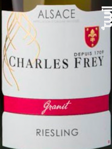 Riesling Granit - Maison Charles Frey - 2018 - Blanc