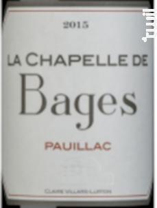 La Chapelle de Haut-Bages Libéral - Château Haut-Bages Libéral - 2017 - Rouge