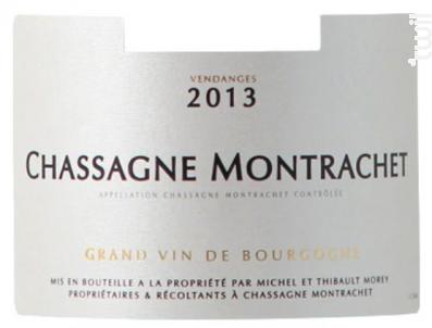 Chassagne Montrachet Village - Domaine Sylvain Morey - 2014 - Blanc