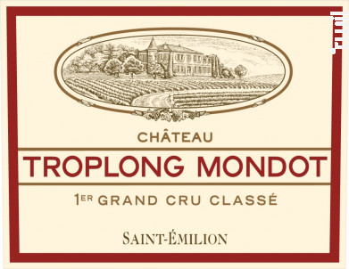 Château Troplong Mondot - Château Troplong Mondot - 2015 - Rouge