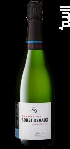Réserve • Brut - Champagne Soret-Devaux - Non millésimé - Effervescent