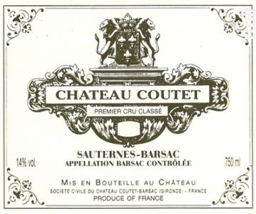 Château Coutet - Château Coutet - Barsac - 2011 - Rouge