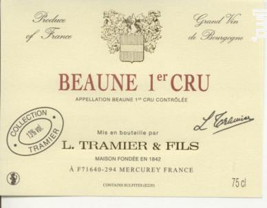 Beaune 1er Cru - Maison L. Tramier et Fils - 2017 - Rouge
