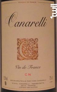 Carcaghjolu - Clos Canarelli - Yves Canarelli - Non millésimé - Rouge