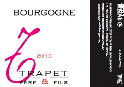 Bourgogne Blanc - Domaine Trapet - 2019 - Blanc