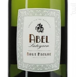 Crémant Blanc Brut Nature - ABEL - Non millésimé - Effervescent