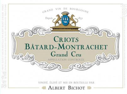 Criots-Bâtard-Montrachet Grand Cru - Albert Bichot - 2019 - Blanc