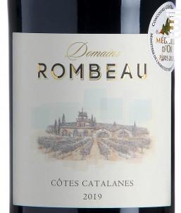 Domaine de Rombeau Côtes Catalanes - Château de Rombeau - 2019 - Rouge