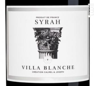 Villa Blanche - Syrah - Calmel & Joseph - 2017 - Rouge