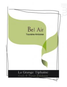 Bel Air - La Grange Tiphaine - 2015 - Blanc