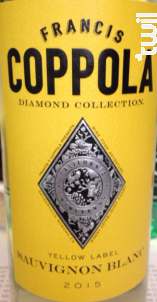 Diamond Collection - Yellow label sauvignon blanc - FRANCIS FORD COPPOLA WINERY - 2016 - Blanc