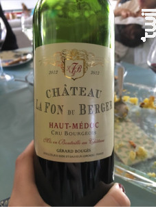Château La Fon du Berger - Château La Fon du Berger - 2013 - Rouge