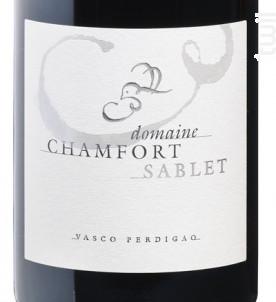 Sablet - Domaine Chamfort - 2015 - Rouge