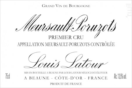 Meursault 1er Cru