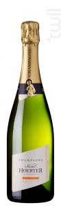 Les 3 Muses - Demi Bouteille - Champagne Michel Hoerter - Non millésimé - Effervescent