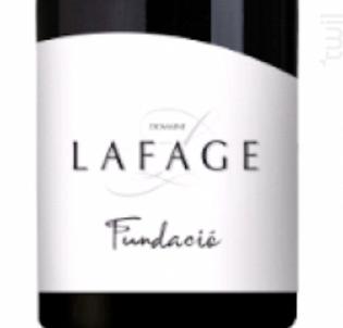 Fundacio - Domaine Lafage - 2017 - Rouge