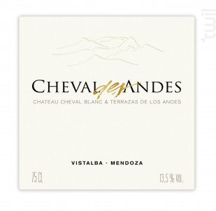 CHEVAL DES ANDES - CHEVAL DES ANDES - 2016 - Rouge