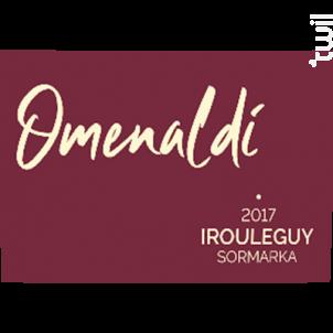 Omenaldi - Cave d'Irouleguy - 2018 - Rouge