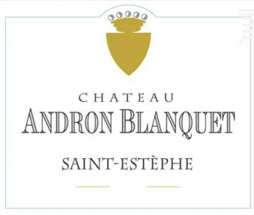 Château Andron Blanquet - Château Andron Blanquet - 2012 - Rouge