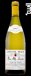 Mâcon Milly-Lamartine • Clos du Four - Louis Max - 2018 - Blanc