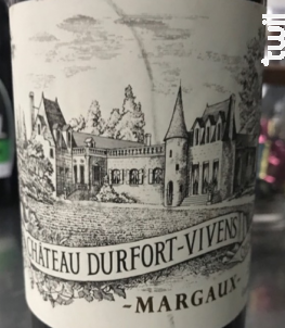 Château Durfort-Vivens - Château Durfort-Vivens - 2018 - Rouge