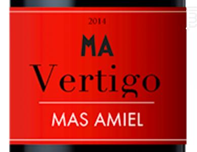 Vertigo - Mas Amiel - 2018 - Rouge