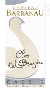 Clos Val Bruyere - Clos Val Bruyère - 2018 - Blanc