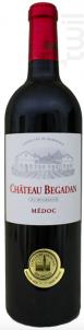 Château Begadan Cru Bourgeois - Château Begadan - 2015 - Rouge