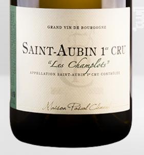 Saint-Aubin Premier Cru Les Champlots - Maison Pascal Clément - 2012 - Blanc
