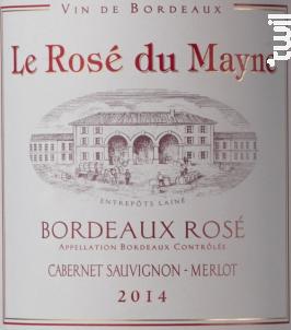 Le Rosé Du Mayne - Dourthe - 2016 - Rosé