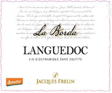 La Borda- Sans sulfite - Jacques Frelin - Terroirs Vivants - 2018 - Rouge