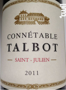 Connétable Talbot - Château Talbot - 2011 - Rouge
